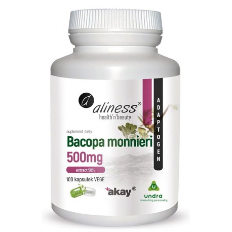 Bacopa monnieri 500 mg